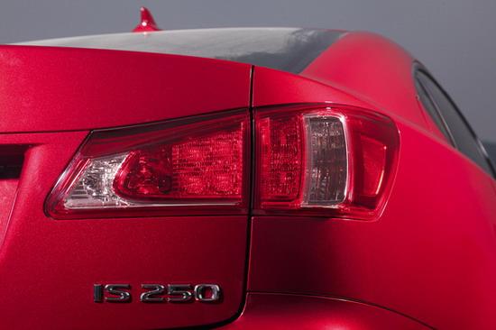 节能减排 试驾新款雷克萨斯is250高清图片